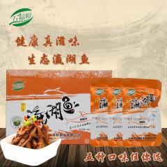 安康五福鲜瀛湖小鱼干健康零食300盒装
