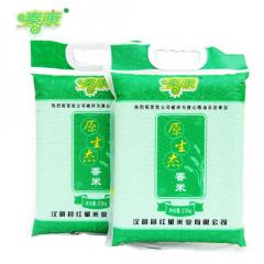 汉阴红星米业2500g袋装香米富硒大米