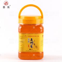 秦南土蜂蜜陕西自产深山天然蜜健康饮品1000g瓶装